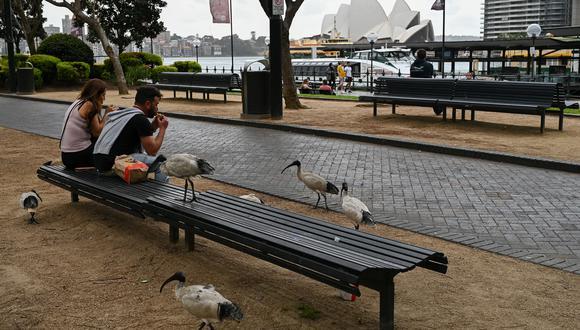 """Australia había logrado contener los contagios del coronavirus mediante el cierre fronterizo, confinamientos y una política agresiva de pruebas. Pero la variante delta echó abajo el sueño del """"covid cero"""". (Foto: Steven Saphore / AFP)"""