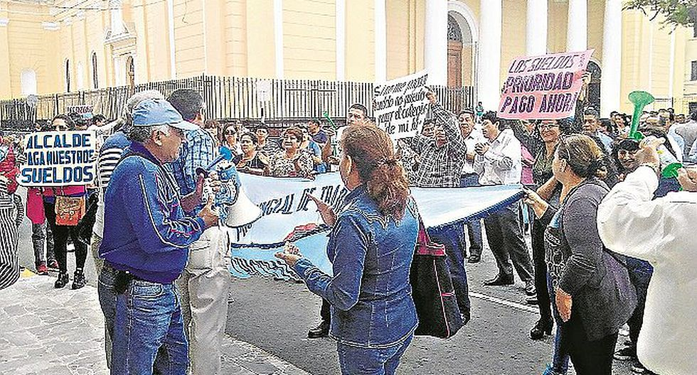 Municipalidad de Chiclayo retrasa pago a trabajadores y obreros