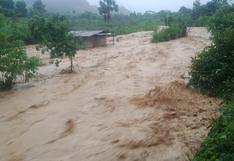68 viviendas quedaron afectadas tras desborde del río Santa Martha en Huánuco