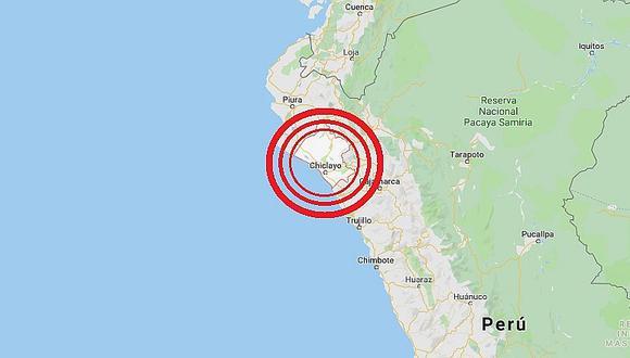 Lambayeque: sismo de magnitud 3.9 se registró en Olmos