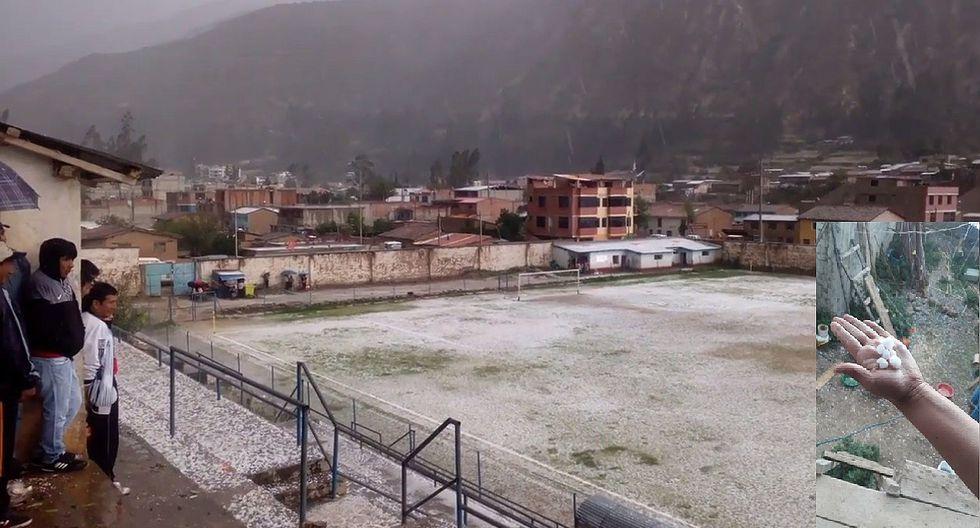 Intensa granizada suspende final departamental de fútbol femenino
