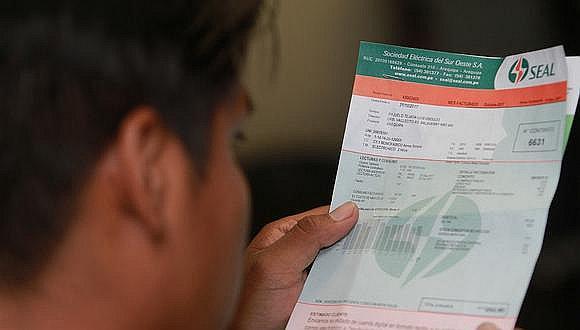 SEAL: 215 mil usuarios de Arequipa obtuvieron facturación cero