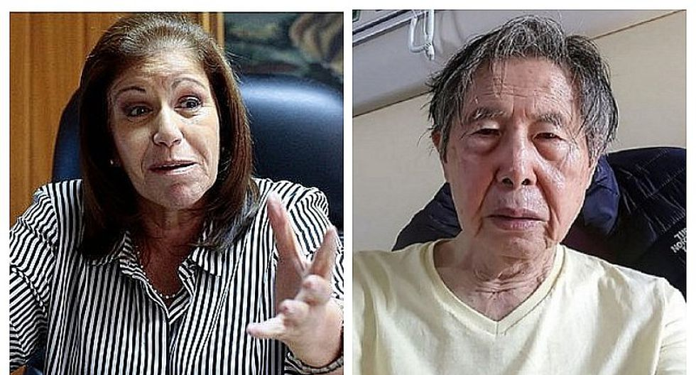 Lourdes Flores Nano calificó de inhumano retorno de Alberto Fujimori al penal de Barbadillo