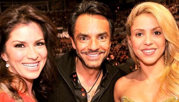 Eugenio Derbez recuerda grato momento junto a Shakira. (Foto: @ederbez)