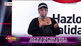 """Lucía de la Cruz revela en """"El Artista del Año"""" que su madre falleció (VIDEO)"""