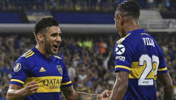 Boca Juniors vs. Santos: chocan en La Bombonera por semifinales de Copa Libertadores. (Foto: AFP)