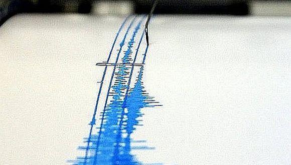 Sismo de 5.0 de magnitud sacudió Loreto esta tarde
