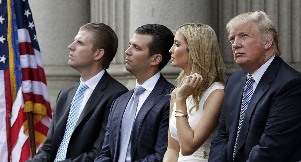 """Hijo de Donald Trump: """"El nepotismo es un factor de la vida"""""""