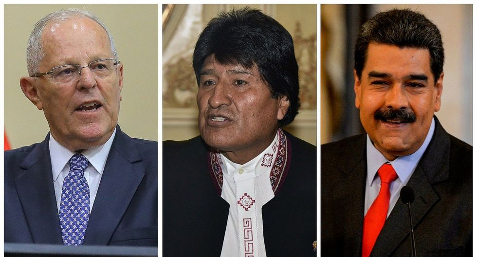 Evo Morales pide a PPK reconsidere decisión de excluir a Maduro de Cumbre de las Américas