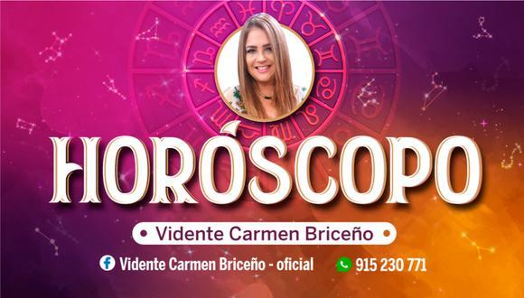 Horóscopo de hoy, domingo 10 de enero, con las predicciones de la vidente Carmen Briceño.