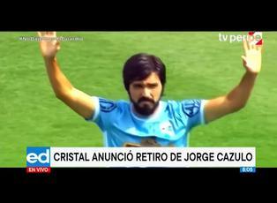 Sporting Cristal anuncia el retiro de Jorge Cazula con emotivo homenaje