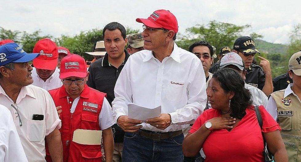 Presidente Vizcarra inaugura siete calles y avenidas rehabilitadas en Sullana