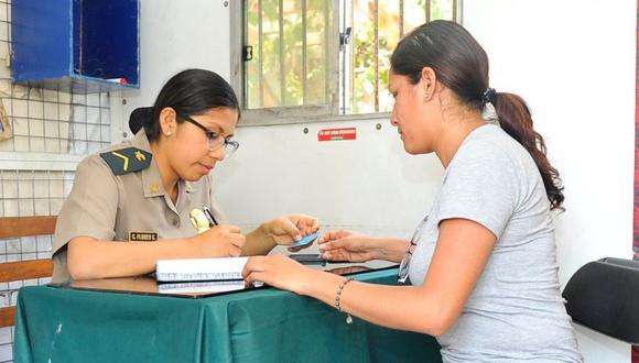 El anuncio se hizo en el marco del Día de la Mujer Policía en el Perú, fecha en que se recuerda su incorporación a esta institución, hace 65 años. (Imagen referencial)