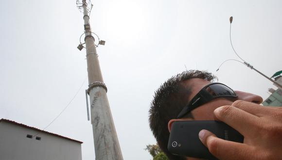 Sin antenas de telefonía no hay servicio, calidad ni velocidad, señaló AFIN. (Foto: Miguel Bellido / GEC)