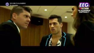 Patricio Parodi golpeó a Ignacio Baladán por culpa de Luciana Fuster en 'La Academia' (VIDEO)