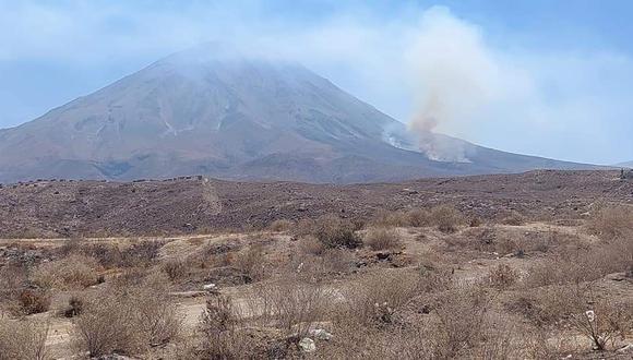El siniestro se habría iniciado por el uso de fuego para limpiar los campos de cultivo, el cual se habría propagado por el viento. (Foto: Difusión)
