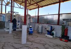 Supervisan instalación de cobertizo para planta de oxígeno en Puno
