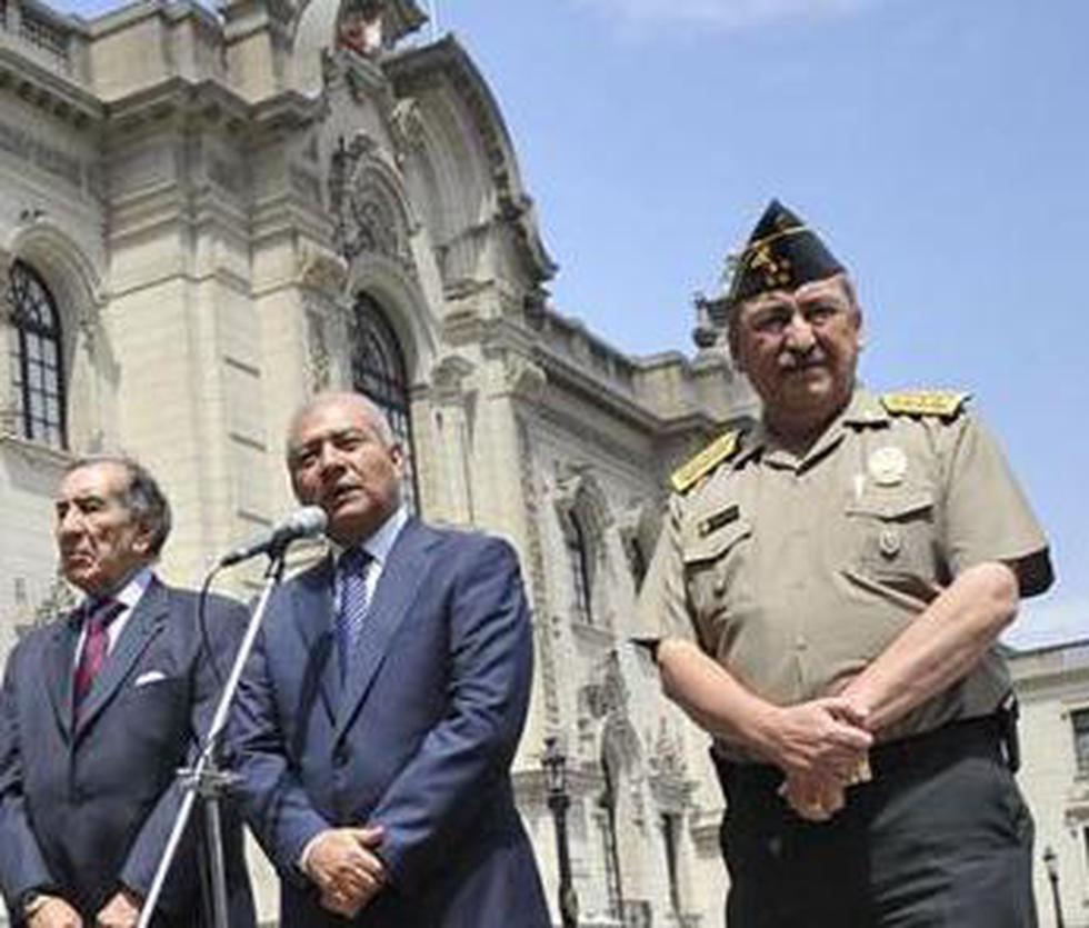 Fiscalía evalúa iniciar investigación a saliente director de PNP, Gral. Raúl Salazar