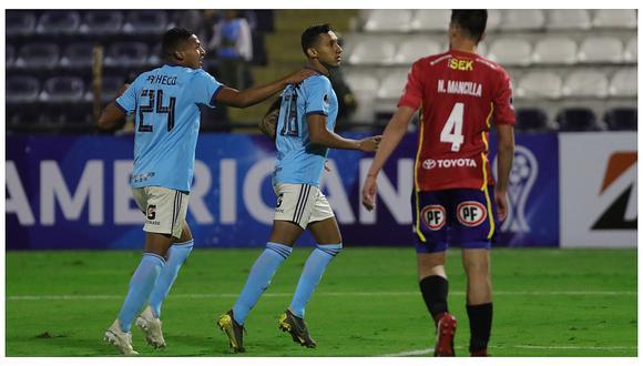 Copa Sudamericana: los goles de la victoria de Sporting Cristal sobre Unión Española por 3-0 (VIDEO)