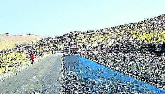 Suspenden ejecución del contrato de la carretera Checca - Mazocruz