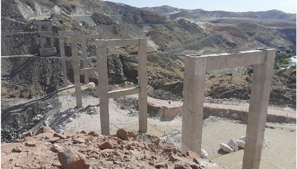 Construcción del puente Arequipa La Joya data desde el 2018| Foto: GEC Archivo