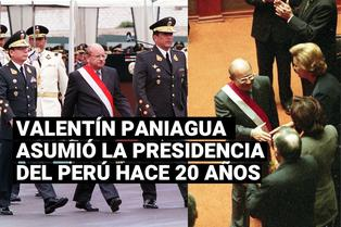 Valentín Paniagua fue elegido presidente del Perú tras vacancia de Alberto Fujimori hace 20 años