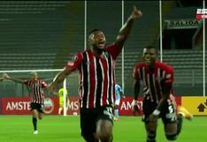 Sporting Cristal vs. Sao Paulo: Luan sorprendió a los celestes con el 1-0 (VIDEO)