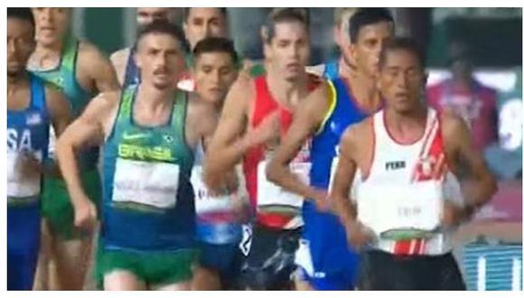 Lima 2019: José Luis Rojas se quedó sin medalla de oro tras ser superado en el último tramo de la carrera (VIDEO)