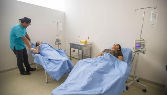 El servicio de quimioterapia y radioterapia tiene capacidad para atender 20 pacientes cada dos horas en promedio. (Gobierno Regional del Callao)