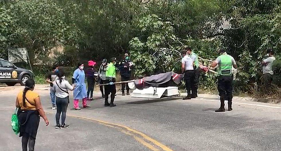 Cadáver de hombre que se ahogó estuvo tirado tres días en carretera