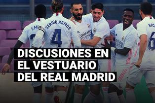 Sergio Ramos y su bronca por el rendimiento de Isco tras el triunfo del Real Madrid ante el Barcelona