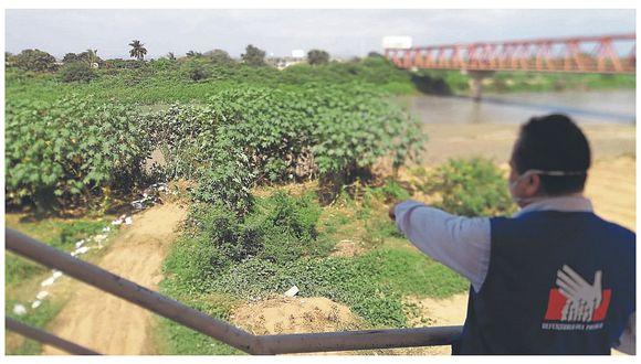 MPT enterraba basura en orilla del río Tumbes