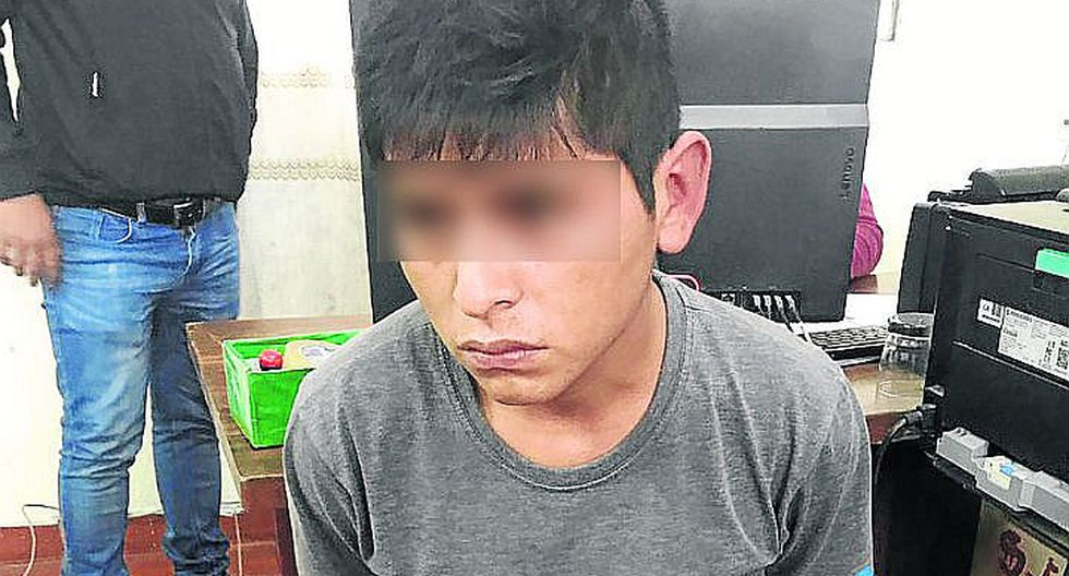 PNP captura a presunto violador de una escolar