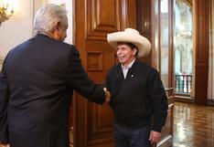 Pedro Castillo tuvo reunión con presidente mexicano Andrés López Obrador