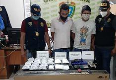 """La Policía interviene a dos hombres con más de mil """"ketes"""" de PBC en Sullana"""