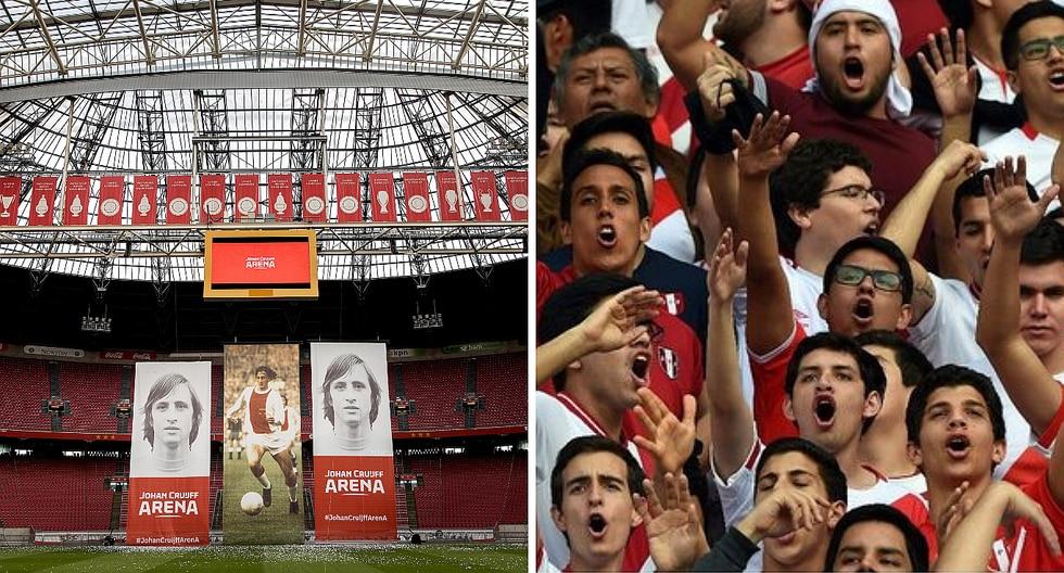 Ámsterdam: Así celebran los hinchas peruanos la previa al partido (VÍDEO)