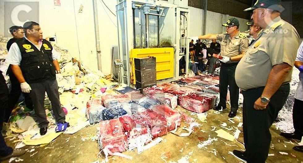 PNP incauta casi una tonelada de droga en SJL (FOTOS)