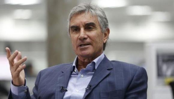 Juan Carlos Oblitas, director deportivo de la Federación Peruana de Fútbol (FPF)
