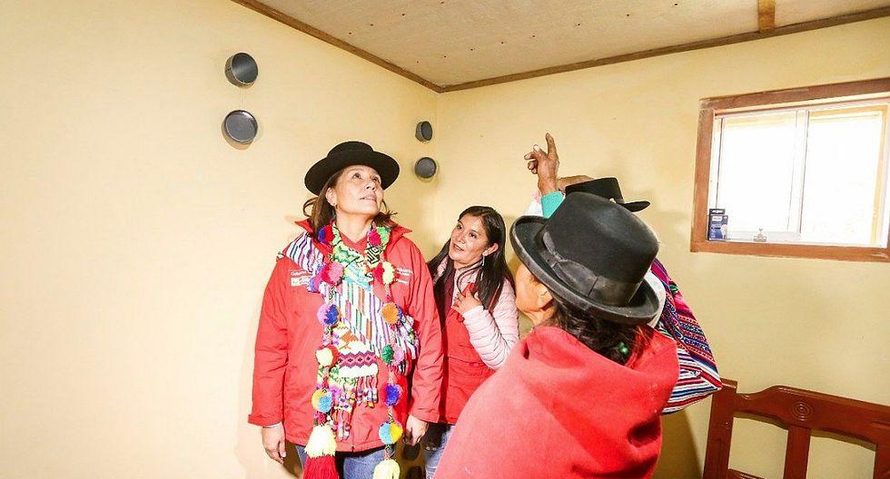 Población de Purus en Ayacucho afrontará frío extremo con viviendas térmicas acondicionadas