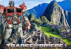 Machu Picchu será escenario de la nueva película de Transformers (FOTOS)