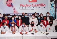 Alex Paredes fue elegido como vocero de Perú Libre