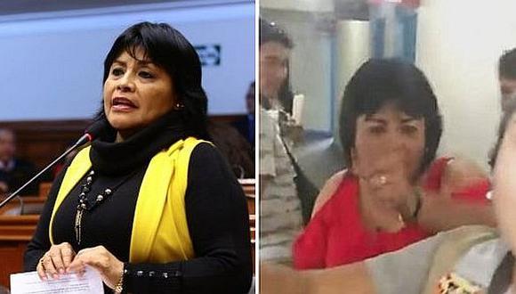 Esther Saavedra se muestra en hospital tras agresión a periodista (VIDEO)