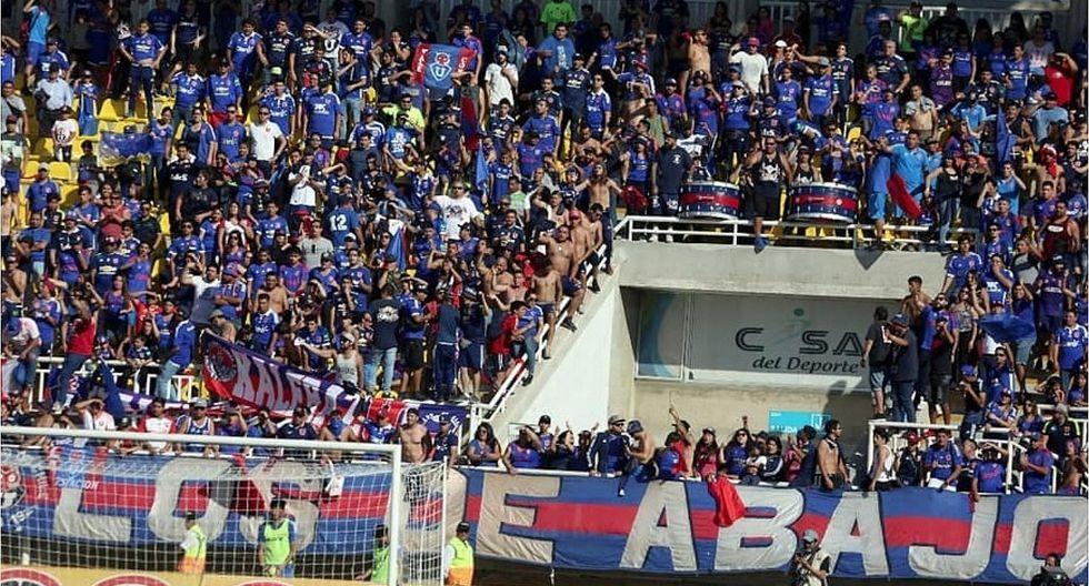 """Barra de la  """"U"""" de Chile a hinchas acusados de violación: """"Los vamos a encontrar"""" (FOTO)"""