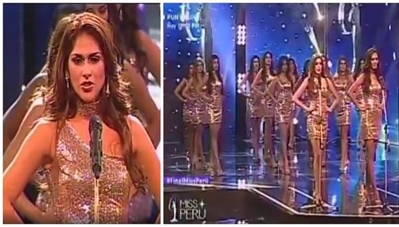 Miss Perú 2018: Candidatas sorprendieron revelando cifras de violencia contra mujeres (VIDEO)