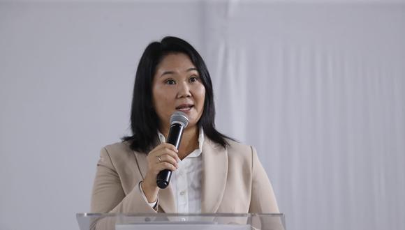 """La candidata presidencial por Fuerza Popular dio un pronunciamiento en el que indicó que corresponde """"enfrentar unidos una nueva etapa""""."""