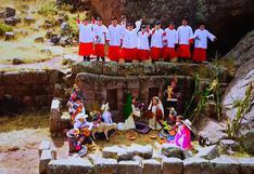 Coro de niños lanza villancico en quechua y se internacionaliza