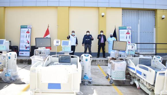 Áncash: El hospital de Huaraz contará con un total de 15 camas UCI, para atender a pacientes COVID-19 que se encuentran en la lista de espera. (Foto: Diresa)