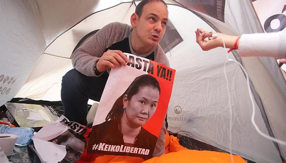 "Mark Vito sobre huelga de hambre: ""Registré vacaciones acumuladas para estar acá"""