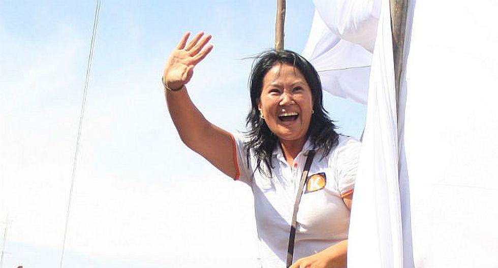 Keiko Fujimori cerrará su campaña en Arequipa