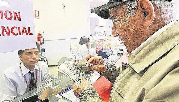 AFP: Jubilados y sus beneficiarios podrán recibir pensión en aseguradoras desde junio